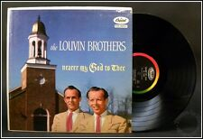 The Louvin Brothers Nearer My God to Thee Capitol T825 1957 Original Vinyl + Mp3