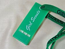 Vintage Girl Scouts Leader's Whistle (and shoelace)