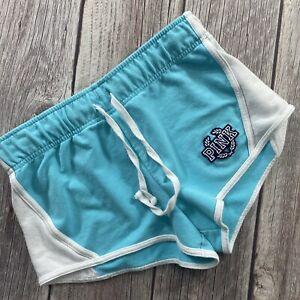 Victoria's Secret PINK Casual Lounge Blue Drawstring Shorts Women's Size S