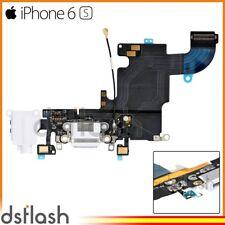 Cable Conector Carga iPhone 6S Blanco Jack Auriculares Microfono Flex Antena