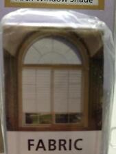 "Redi Arch Window Shades  White Fabric 35"" x 72""  #500"