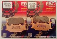 Yamaha FZ6 (2004 to 2007) EBC Sintered FRONT Disc Brake Pads (FA199HH) (2 Sets)