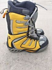 Limited Snowboards Galaxy BRIGHT YELLOW linered boots thermal Mens Shoes Size 9