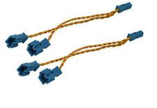 2x For BMW E60 E90 E70 F10 F01 F20 F25 F30 Speaker/Tweeter Splitter Y Cable ada