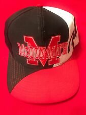 1990's VINTAGE  MCDONALD's Red White ,& Black HAT - Never Worn - Mint Condition