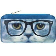 MLAVI BY LAVISHY CAT COLLECTION FAUX LEATHER CARDHOLDER BH-CAT002