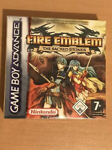 Jeu nintendo game boy advance GBA FIRE EMBLEM the sacred stones sous Blister