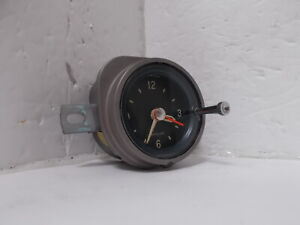 1963 Pontiac Clock. Serviced. Works Perfectly. Bonneville Grand Prix Star Chief