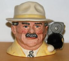 SMALL ROYAL DOULTON CHARACTER JUG THE BOWLS PLAYER D6896 *** EXCELLENT ***