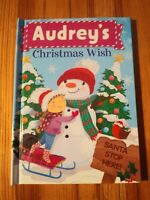 "Christmas Wish Book ""Audrey"" - Perfect Stocking Stuffer"