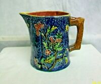 "@AC-CH ENGLAND STOKE-ON-TRENT SHORTER & SONS ""HALLBOY""  MAJOLICA POTTERY PITCHER"