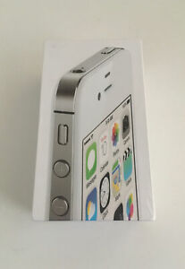 New Sealed Old Stock Apple iPhone 4s 8gb 5th Generation - White -  DEMO - Rare