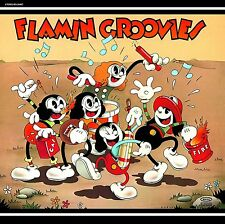 LP FLAMIN GROOVIES SUPERSNAZZ ROCK AND ROLL POWER POP VINYL