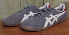 Ontisutka Tiger Men's size 7 ASICS Gray Suede D38BL Athletic Running Shoes ~38