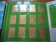 China Dream of Red Mansions Gold Stamp In An Original Pack- unusual