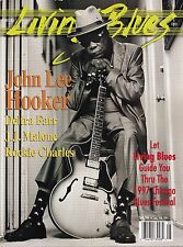 LIVING BLUES MAGAZINE NUMBER 133 MAY-JUNE 1997 JOHN LEE HOOKER ROCKIE CHARLES