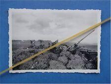 Foto 2 cm Flak 38 in Feldstellung