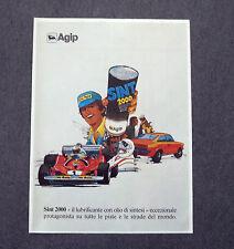 G347 - Advertising Pubblicità - 1981 - AGIP SINT 2000