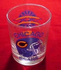 Chicago Bears Super Bowl XX Glasses - Full Case - NEW