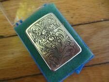 Vintage New Old Stock Lighter Engraved Parker Unused w/ Case