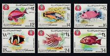 D. Fish Sealife Yemen - Kingdom of 397 - 402 (MNH)