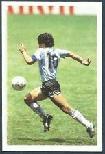 A QUESTION OF SPORT-1986-FOOTBALL-ARGENTINA-DIEGO MARADONA IN ACTION-VERY RARE