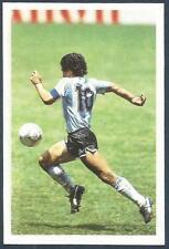 Una Pregunta de SPORT-1986-FOOTBALL-ARGENTINA-DIEGO Maradona en Action-Very Raro