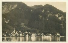 Switzerland Vitznau panorama photo postcard