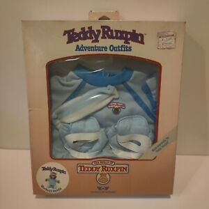 Teddy Ruxpin Workout Outfit Adventure Outfits Worlds of Wonder 1985 Bear Clothes