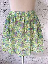 Zara Short/Mini Floral Skirts for Women