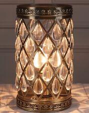 VINTAGE Marocchino Stile Metallo Ottone Antico gioiello delle gocce TAVOLA luce laterale NUOVO
