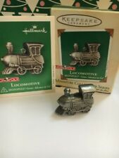 Fine Pewter Monopoly Locomotive Hallmark Christmas Tree Ornament New In Box