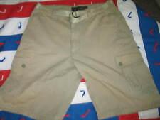 Abercrombie & Fitch Men's Sz 34 Outdoors Down String Belt Cargo Shorts L