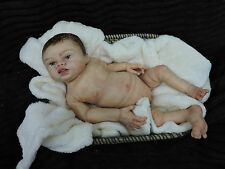 Full Body Soft Solid Silicone Baby doll/REBORN SILICONA Drink fluids,