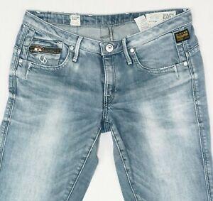 G-Star RAW GS 3301 OCEAN SKINNY WMN Stretch Women Jeans Size W30 L34