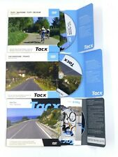 Tacx Real Life Video (RLV) DVDs x 3 Tilff Elba Dordogne in Perfect Condition