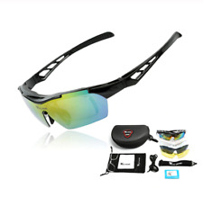 Cycling Sunglasses Polarized Bicycle MTB Glasses Myopia Frame With 5 lenses
