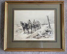 More details for 'a field artillery unit near bapaume' jean jaques berne bellacour. lithograph