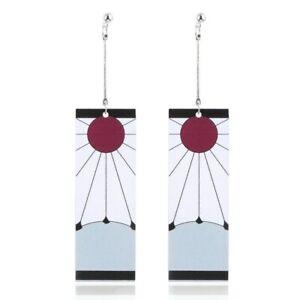 Earring Weiblich Anime Lange Ohrhänger Dämonentöter-Klinge Der Geisterohrstecker