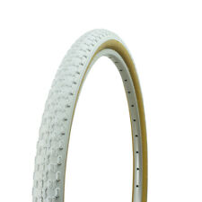 "NEW! 24"" x 1.75"" BMX bike WHITE GUM WALL Comp 3 design bicycle tire 65PSI!"