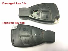 Repair service for Mercedes C Class W203 1999 - 2007 remote key fob + New case