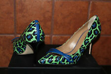 DSQUARED2 AYERS PUMP MACULATO VERDE #8us $635
