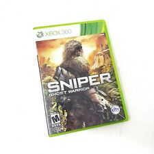 Sniper Ghost Warrior Xbox 360 Pre Owned Mature M Microsoft GUC Video Game Disc