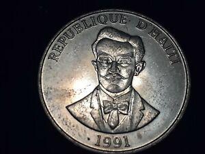1991 Haiti 50 Centimes
