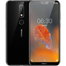 Nokia X6 Smartphone Android 8.0 Snapdragon 636 Octa Core 32GB GPS Face ID 4G LTE