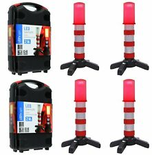 LED Emergency Road Flares Red Roadside Beacon Safety Strobe Light Warning Sign
