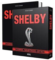 Shelby Cobra Ford Mustang GT40 US-Cars Modelle Geschichte Typen Buch Book