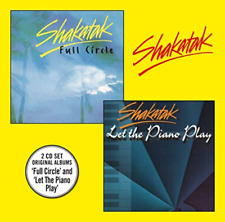 Shakatak-Full Circle Let The Piano Play (UK IMPORT) CD NEW