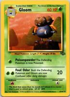 Vintage 1999 Basic Pokemon Gloom #44 Common Jungle Set 34/64 60 HP Single Card