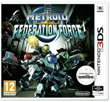 Metroid Prime Federation Force Nintendo 3DS Game PAL New & Sealed